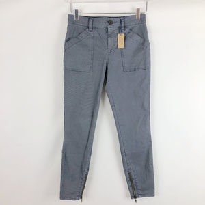 NWT Madewell Cargo Skinny Pants with Zip Ankles